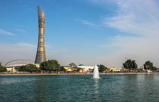 The Torch Tower by Ehab Amin