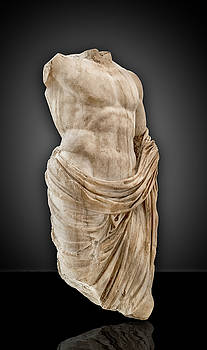 The torso of a Roman Emperor by Gary Warnimont