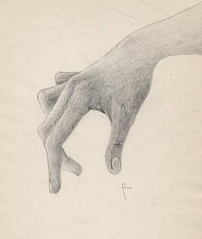 The touch that never hurts. by Annemeet Hasidi- van der Leij