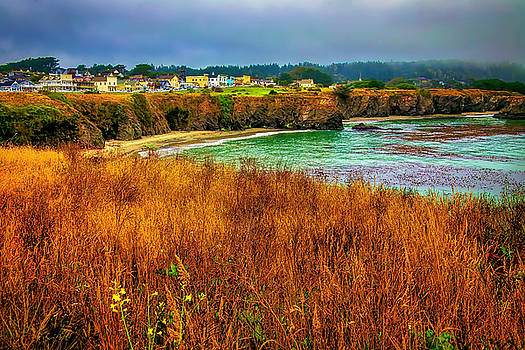 The Town Of Mendocino by Garry Gay