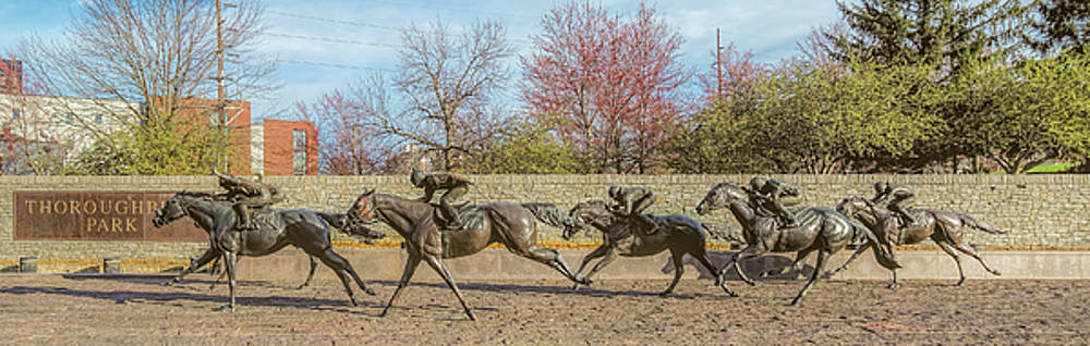 Tony Crehan - The Track - Thoroughbred Park - Lexington Kentucky USA
