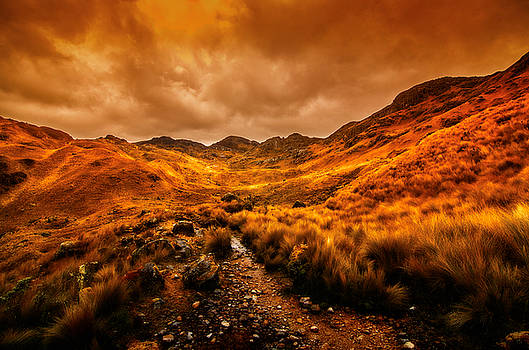 The Trail Ends by Richard Espenant