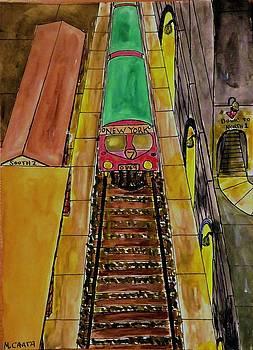 The Train Depot by Mario Carta