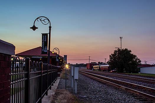 The Train Depot by Tammy Chesney