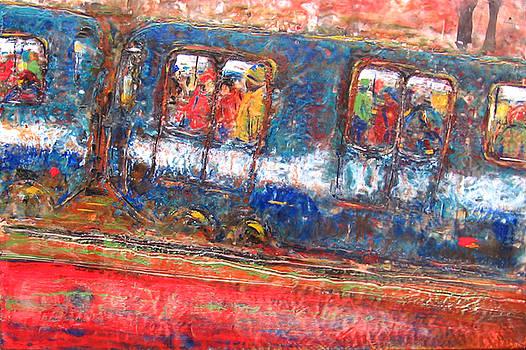 Rochelle Mayer - The train ride panel 1