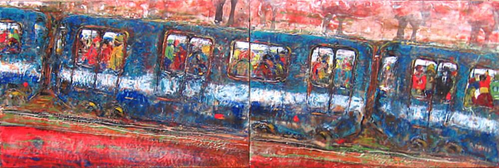 Rochelle Mayer - The train ride