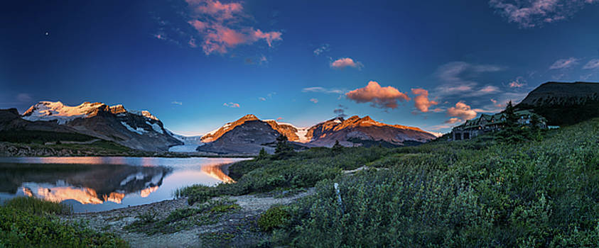 The tranquil morning at ice field center by William Freebilly photography