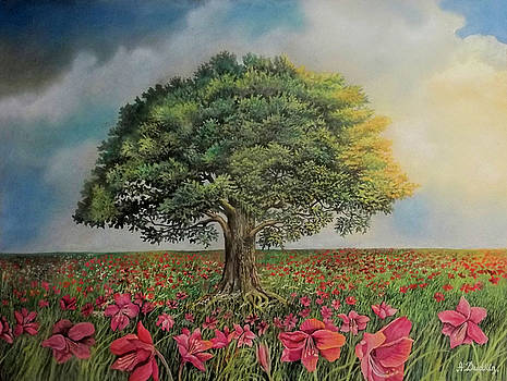The tree of life by Alexander Dudchin