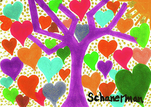 The Tree of Love by Susan Schanerman