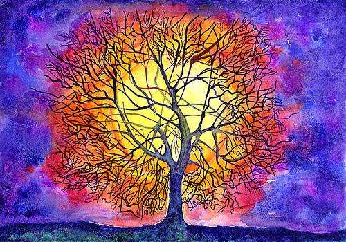 The Tree Of New Life by Kseniya Lisitsyna