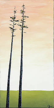 The Trees are So Tall Here   by Carolyn Doe