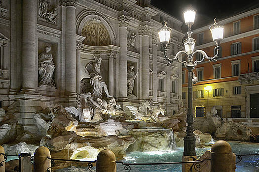 The Trevi Fountain by Joachim G Pinkawa