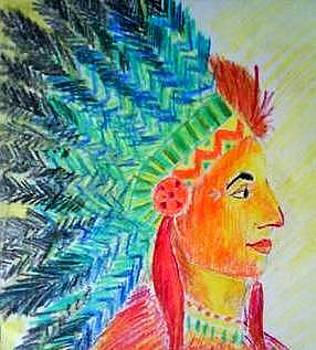 The Tribal  King by Aparajita Krishna
