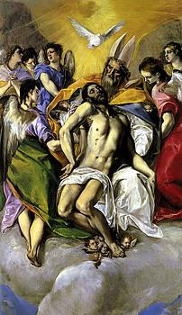 The Trinity by El Greco