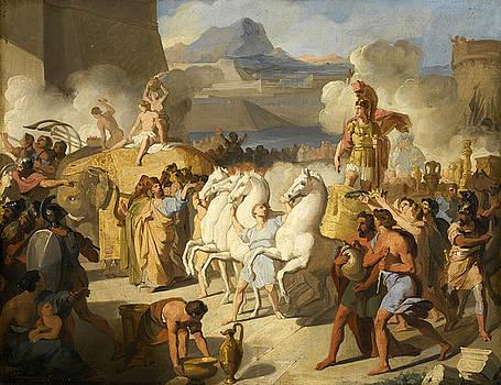 Vincenzo Camuccini - The Triumph of a Roman Hero possibly Marcus Claudius Marcellus