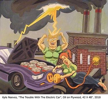 The Trouble With The Electric Car by Kyle Reeves