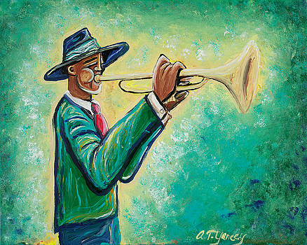 The Trumpet Player by Tiffany Yancey