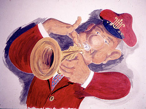 The Trumpeter Bolivoufs by Frank Hunter