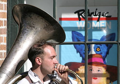The Tuba Serenade In New Orleans by Michael Hoard