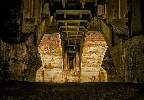 The Tunnel under Broadway by Richard Espenant