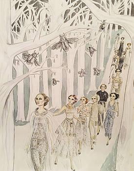 The Twelve Dancing Princesses by Sabina Mollot