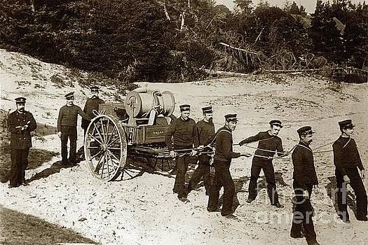 California Views Archives Mr Pat Hathaway Archives - The United States Life-Saving Service beach hand-cart circa 1890