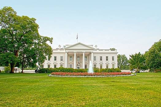 The United States White House by Regina Williams