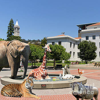 Wingsdomain Art and Photography - The University of California Berkeley Welcomes You To THE ZOO Please Do Not Feed The Animals square