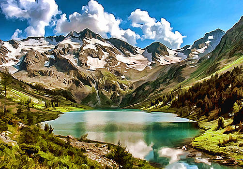 The Upper Multinsky Lake by Arthur Charpentier
