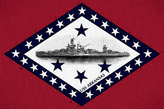The USS Arkansas by JC Findley