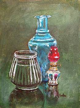 Usha Shantharam - The Vase Candle and Lamp