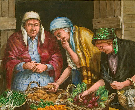 The Vegetable Vendor by Edward Farber