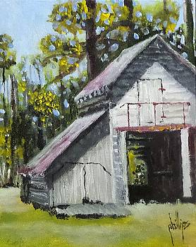 The Verona Barn by Jim Phillips