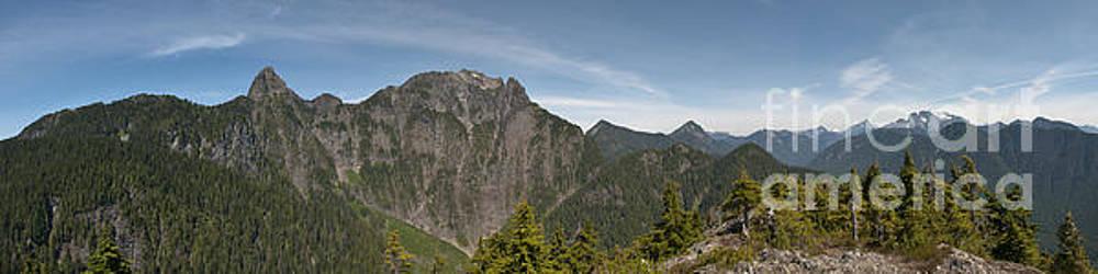 Rod Wiens - The view from Evans Peak