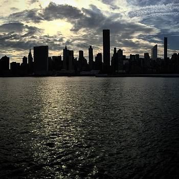 Manhattan Skyline by Jake Cockerill