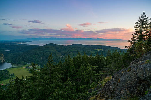 The View from Mt Erie by Ken Stanback