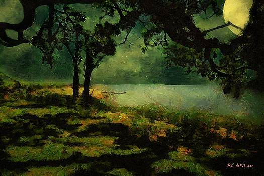 The View from Peter's Bench by RC deWinter