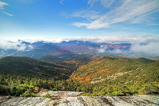 Toby McGuire - The view from the Giant Mountain Summit Keene Valley NY Adirondacks