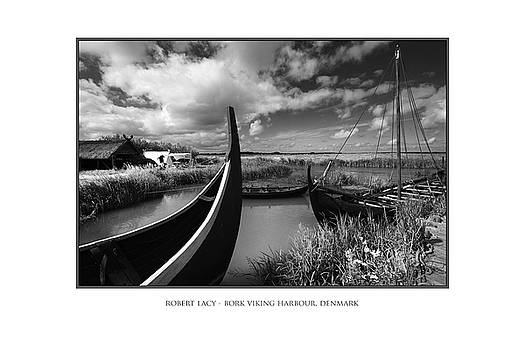 The Viking Harbour at Bork by Robert Lacy