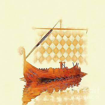 Pierre Blanchard - The Viking Ship