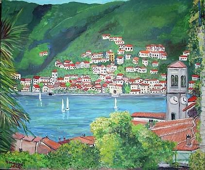 The Village of Torno by Teresa Dominici