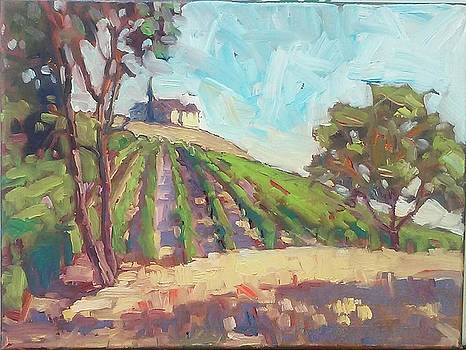 The Vineyard at Sarver 2 by Margaret  Plumb