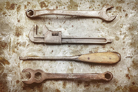 The vintage Tools by Martin Bergsma