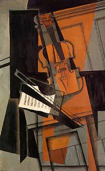 The Violin 1916 by Gris Juan