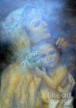 The Virgin and Child by Alberto Thirion