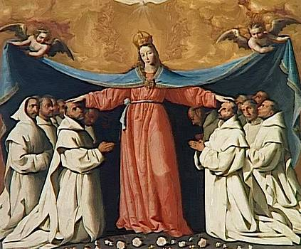 Zurbaran Francisco de - The Virgin Of The Carthusians