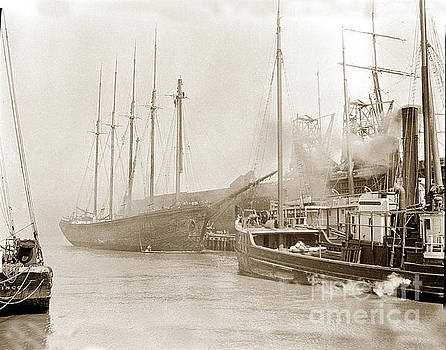California Views Mr Pat Hathaway Archives - The W. H. Marston is a five-masted schooner