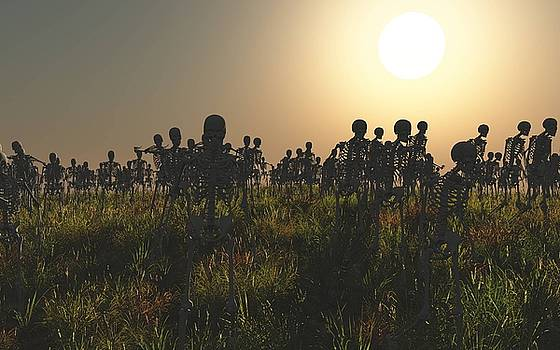 The Waking Dead by Chris Bird