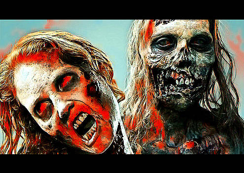 The walking dead by Martin James