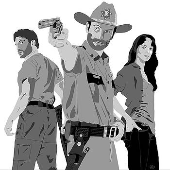 The Walking Dead by Paul Dunkel